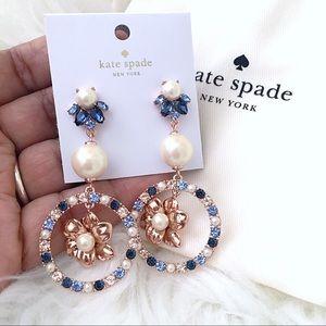 ♠️ Kate Spade Multi Wild Garden Triple Earrings